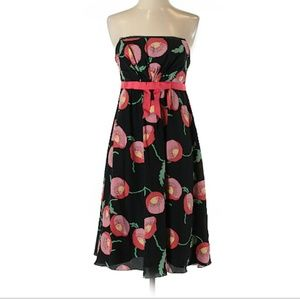 Anna Sui for Anthropologie strapless dress